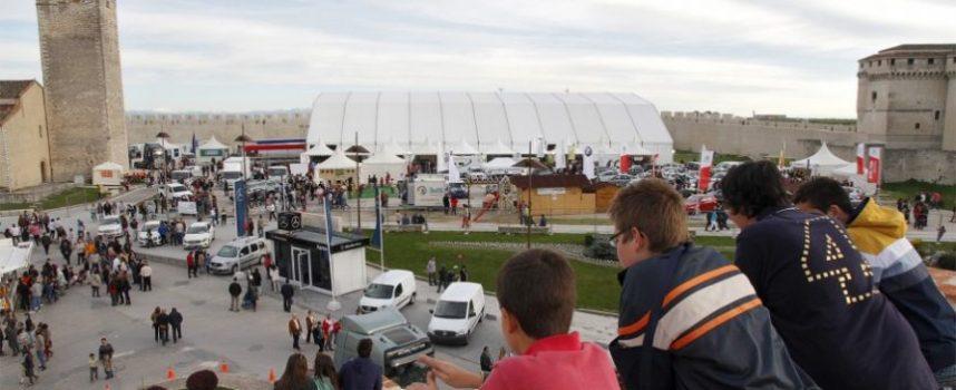 Industria adjudica la carpa de la Feria de Cuéllar a la empresa Ferias y Eventos S.L.