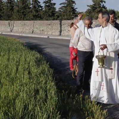Cuéllar despide a su párroco Emilio Calvo al que sustituirá Fernando Mateo