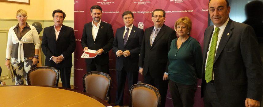 La Diputación firma convenios con los Ayuntamientos que albergan las instalaciones de los CEAAS