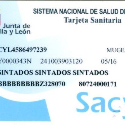Sacyl inicia la distribución de la nueva tarjeta sanitaria que facilitará la asistencia en toda España