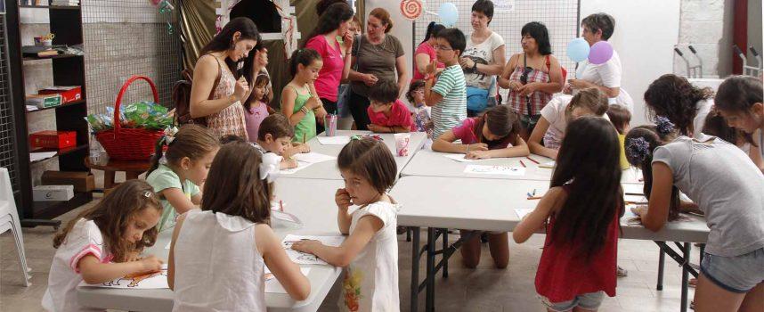 Ismur pone en marcha en Sanchonuño un programa de animación infantil