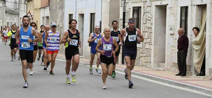 Imagen de la Media Maratón celebrada en Campaspero el pasado año.