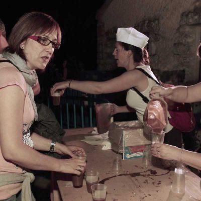 Los cuellaranos celebraron la Noche de San Juan en la Huerta del Duque