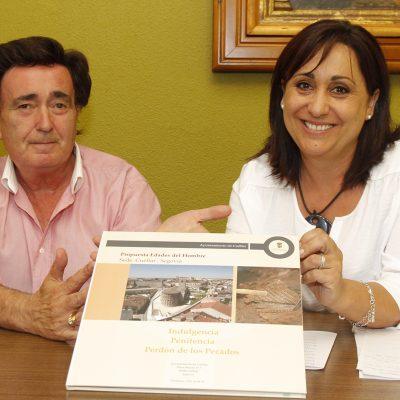 Pedro I acoge mañana la presentación pública de la página web de la candidatura de la villa a Las Edades del Hombre