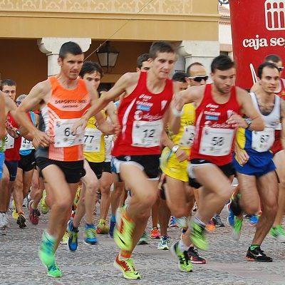 David Solís y Gema Martín vencedores de la quinta legua provincial celebrada en Fuentepelayo