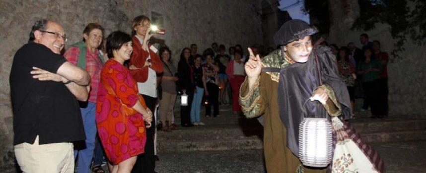 Las rutas teatralizadas nocturnas vuelven el 19 de julio a las calles del conjunto histórico