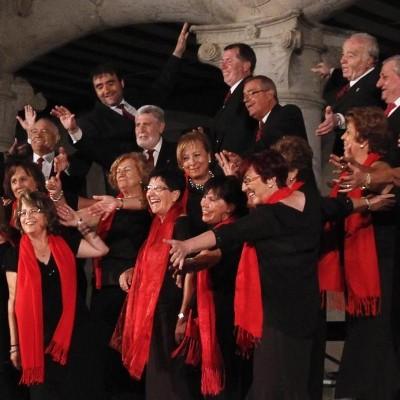 La Coral Cuellarana canta hoy en la misa de La Inmaculada Concepción