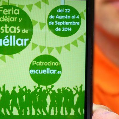 """esCuellar acerca a vecinos y visitantes la programación de la Feria Mudéjar y las fiestas de la villa a través de la App """"LasFiestasde"""""""