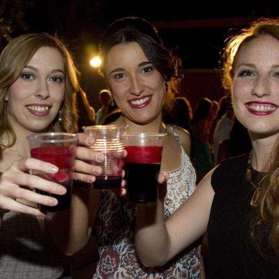 La villa dio un paso más hacia sus fiestas con la ronda a la corregidora y sus damas en Tenerías