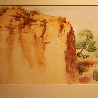 Pablo Sevillano presenta en Bernardos sus cuadros sobre el entorno del río Eresma
