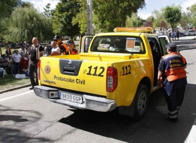 Los Ayuntamientos de Cuéllar, Cantalejo y Carbonero reciben ayudas de Diputación para las Agrupaciones de Protección Civil