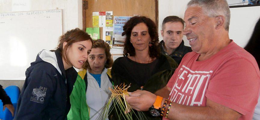 Participantes en el curso de Etnobotánica impartido en San Martín Y Mudrián.