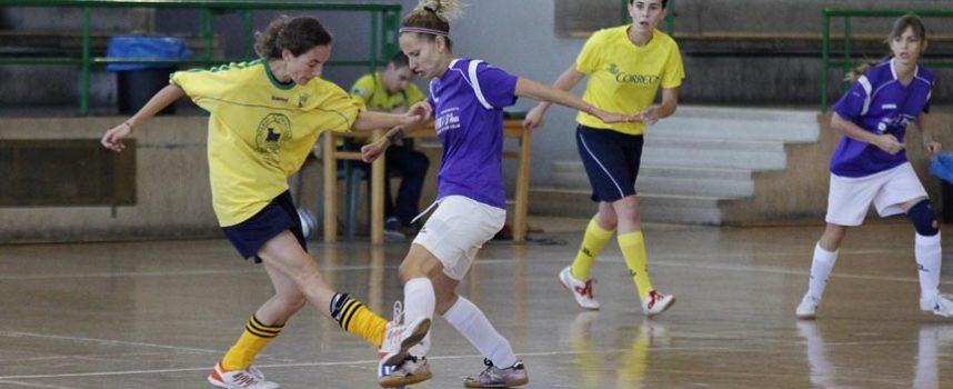 Vendaval cuellarano en Boecillo en la liga Asofusa femenina
