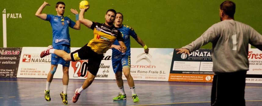 El Balonmano Nava se juega en casa el Play-Off