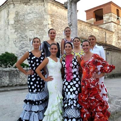 """""""Sueño Flamenco"""" actuó en las fiestas de Torregutiérrez que concluyen hoy"""