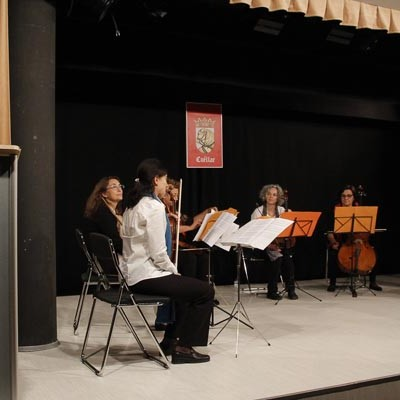 Música cubana de salón para abrir el curso de la Universidad de la Experiencia en la villa