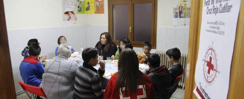Cruz Roja busca voluntarios para el programa de Éxito Escolar que desarrolla en Cuéllar