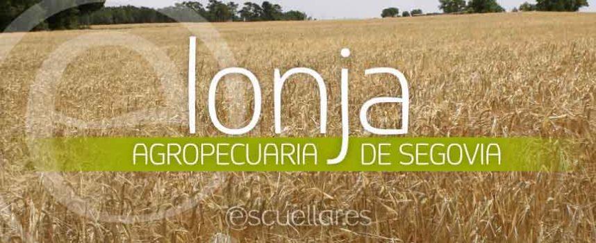 Cotizaciones Lonja Agropecuaria de Segovia.