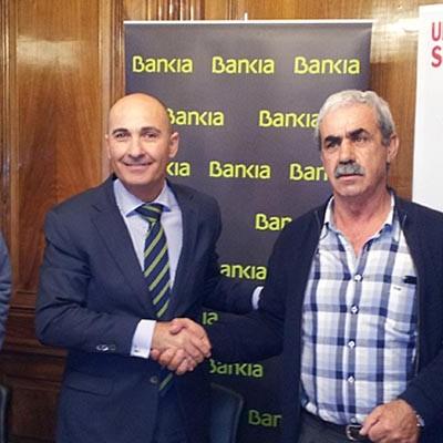Bankia y la Unión de Campesinos de Segovia firman un acuerdo para impulsar los sectores agrícola y ganadero