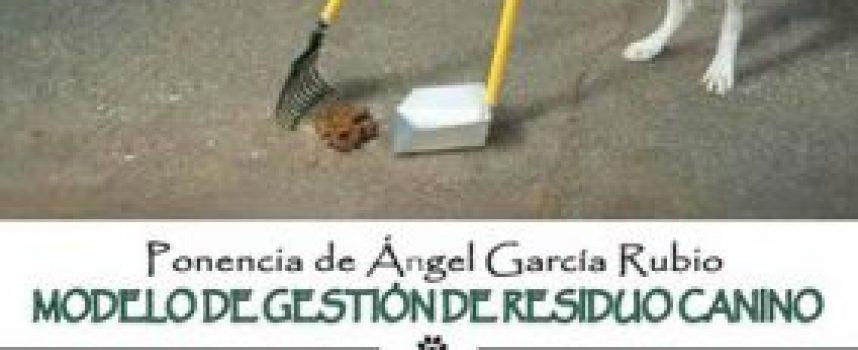 La gestión de los resíduos caninos centrará hoy una ponencia en Alfonsa de la Torre