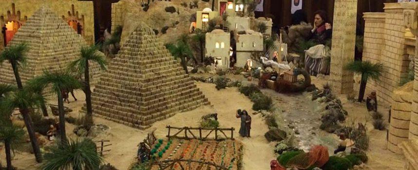 Ya pueden visitarse los belenes instalados en las iglesias de San Miguel y Santa Clara por la Asociación de Belenistas