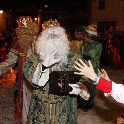 Los Reyes Magos y su séquito recorrerán la comarca