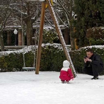 Protección Civil declara la alerta ante la previsión de nevadas en las próximas horas en la Comunidad