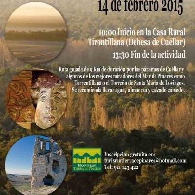 """Honorse Tierra de Pinares acerca a los vecinos la ruta de invierno """"Mirando al mar"""""""