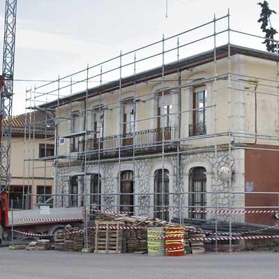 Diputación aprueba una ayuda de 60.000 euros para la restauración del Ayuntamiento de Olombrada