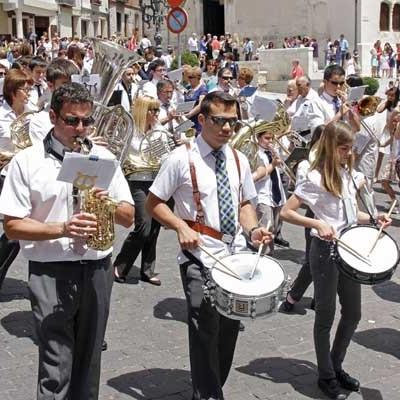 """La Banda Municipal de Cuéllar abrirá el domingo los """"Aperitivos Musicales a Banda"""" en el Teatro Juan Bravo"""