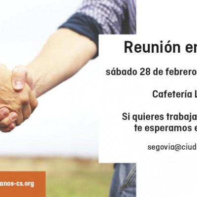 Ciudadanos celebra hoy una reunión informativa en Cuéllar