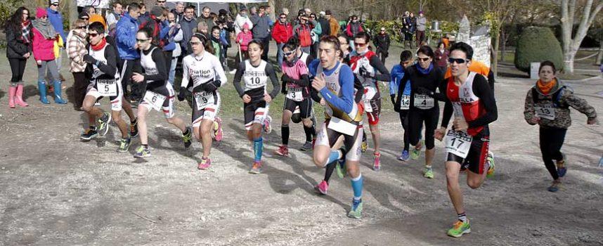 Bronce para el equipo de Esther Gómez, Marina Muñoz y Sara Martín del Triatlón Cuéllar en Pontevedra