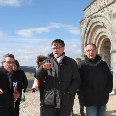 La Junta consolida los restos de la iglesia románica de San Miguel en Sacramenia