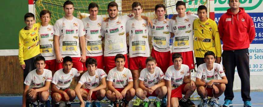Nava de la asunción acoge una fase clasificatoria del campeonato regional de balonmano sector cadete grupo B