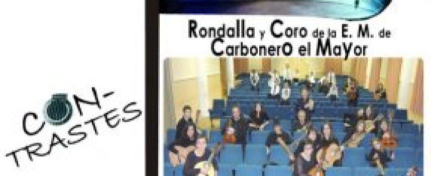 """La Rondalla Con-Trastes y el coro de la Escuela de Música de Carbonero hoy en """"Los Conciertos de la Escuela"""""""