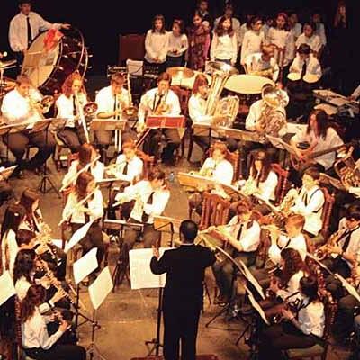 La banda de Carbonero El Mayor se sube al escenario del Juan Bravo en el cuarto concierto de 'Aperitivos a Banda'