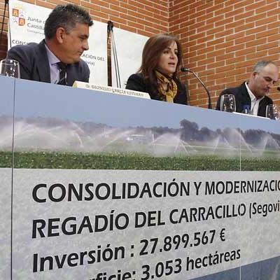 IU advierte que la modificación de la concesión a los regantes de El Carracillo podría afectar al suministro de la Mancomunidad de Las Lomas