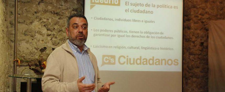Ciudadanos acercó su proyecto a Cuéllar