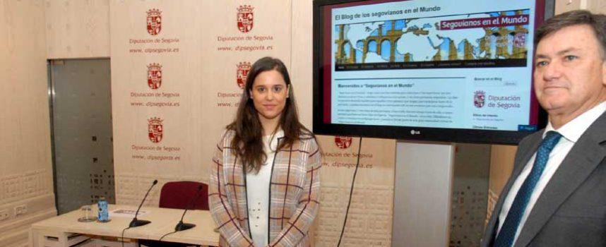 """La Diputación pone en marcha el blog """"Segovianos en el Mundo"""""""