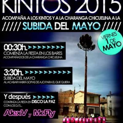 Los quintos de Zarzuela del Pinar protagonizarán el viernes la subida del mayo