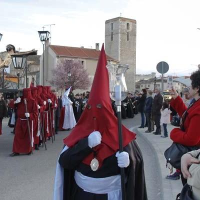 Las calles de San Andrés y San Gil acogieron la procesión de Jueves Santo