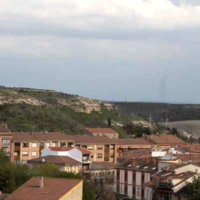 Previsión de nevadas y fuertes rachas de viento en Castilla y León