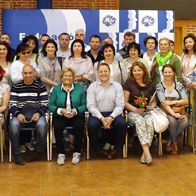 Hontalbilla acoge un encuentro España-Rumanía en la sede de Femur