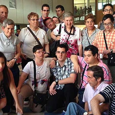 El I Encuentro General de Fundación Personas contó con la participación de usuarios de Cuéllar