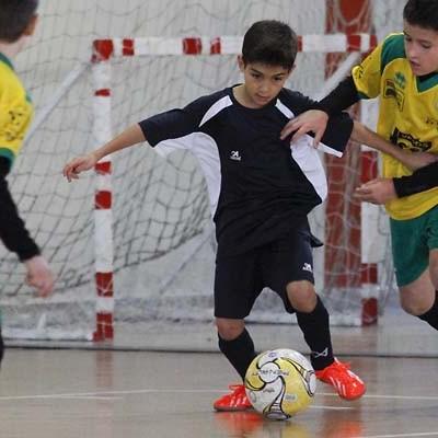 Los alevines del FS Naturpellet cayeron en semifinales ante el Sporting Nava