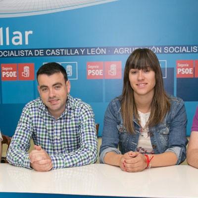 El PSOE señala la ausencia de proyecto político del PP de Cuéllar cuando cumplen su tercer año de legislatura