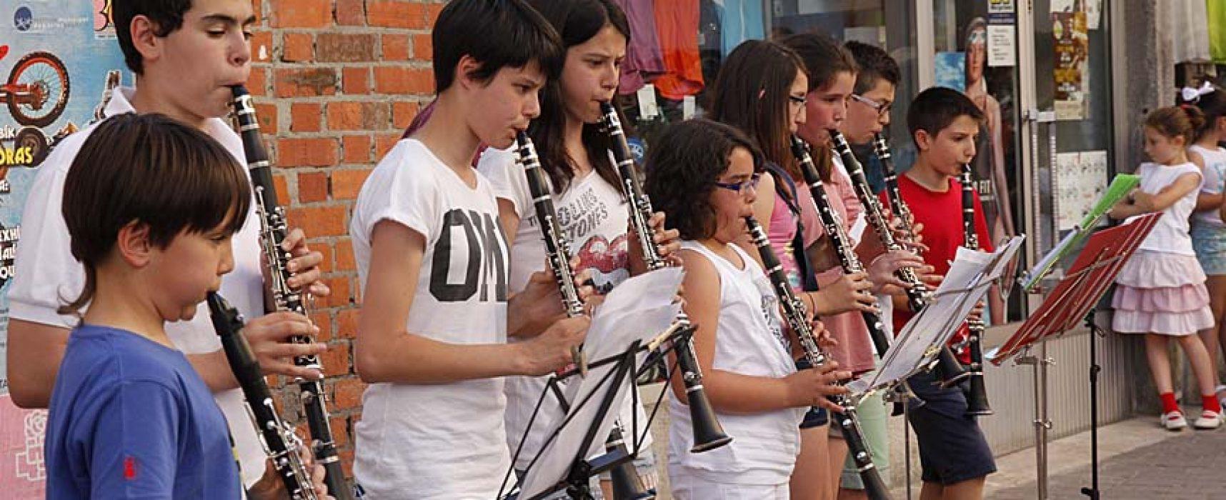 Los alumnos de la Escuela de Música de Cuéllar realizan hoy una audición en Olombrada