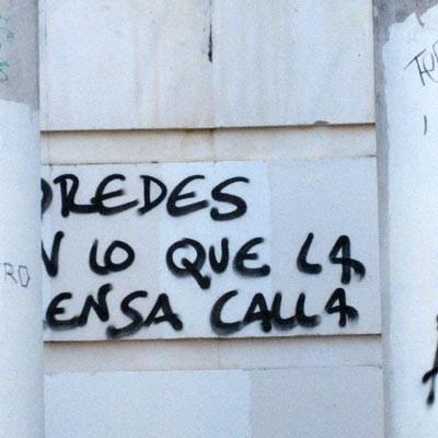 El Ayuntamiento inicia una campaña de limpieza de grafitis