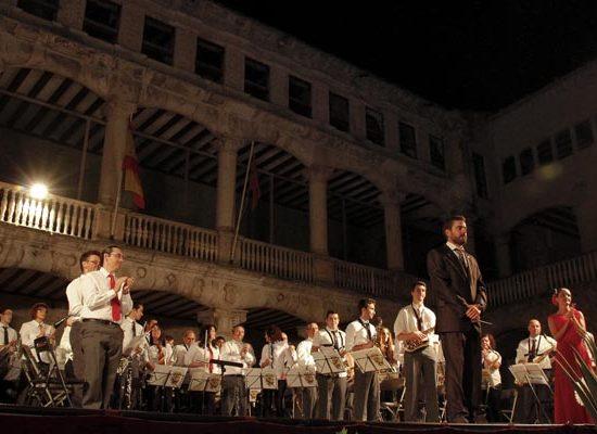 La Banda Municipal de Música ofrece un concierto sinfónico en el Castillo
