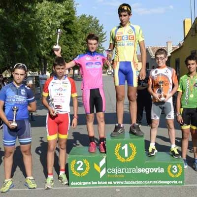 Fuenterrebollo acoge el III Trofeo Ciclista Memorial Jorge Ruano